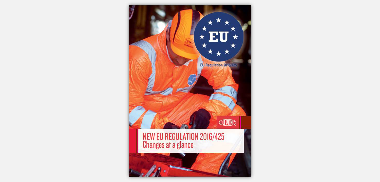 New PPE Regulation (EU) 2016/425