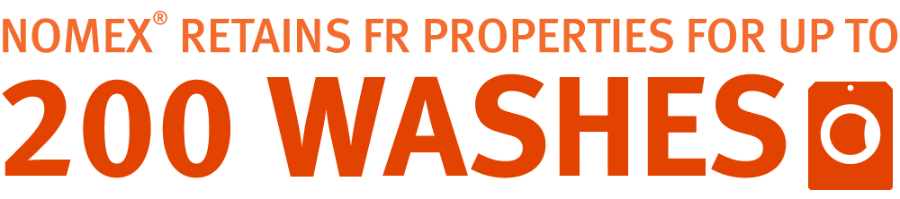 Nomex® Retains FR Properties for up to 200 Washes