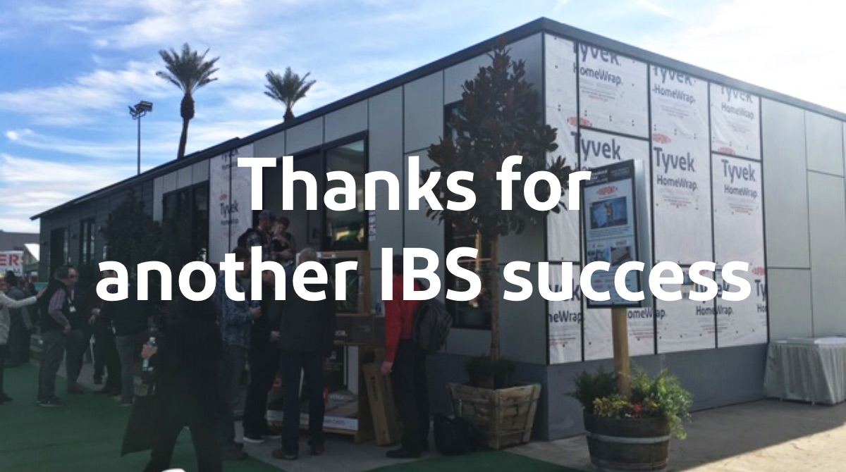Thanks for another IBS success